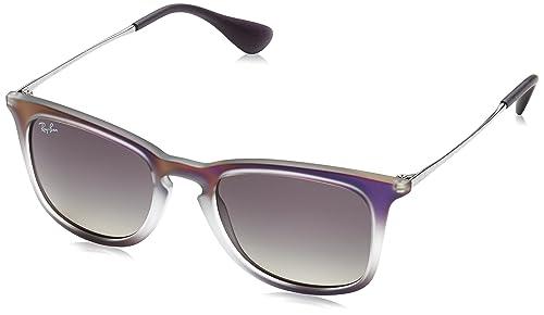 Ray-Ban 4221, Occhiali da Sole Unisex-Adulto, Nero (Negro), 50