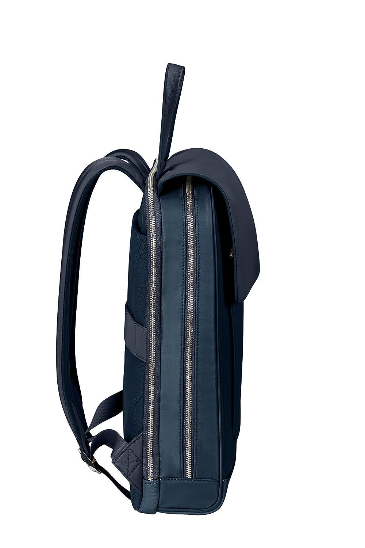 36,5 cm, 11,5 L Samsonite Zalia 2.0 Mochila para port/átil de 14 Pulgadas Midnight Blue Azul