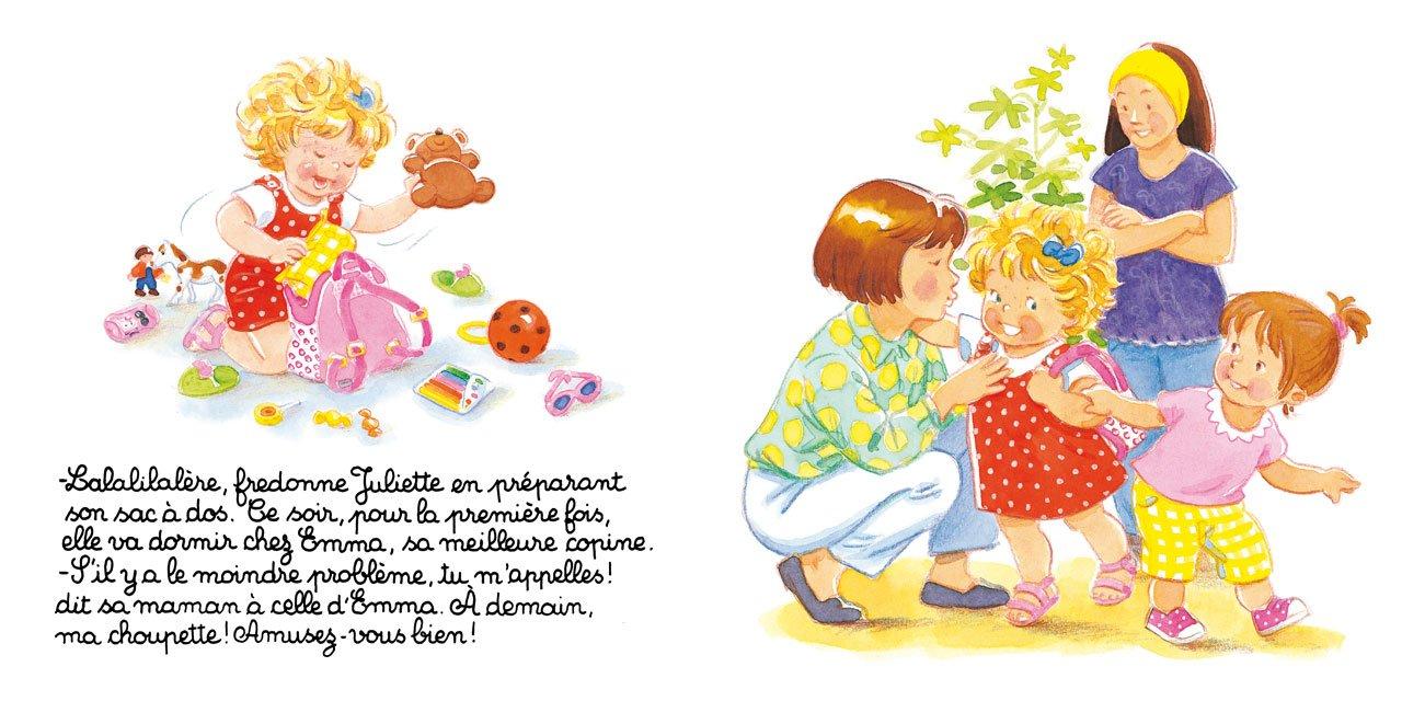 Juliette Dort Chez Sa Copine - Dès 3 ans: 9782244491424: Amazon.com: Books