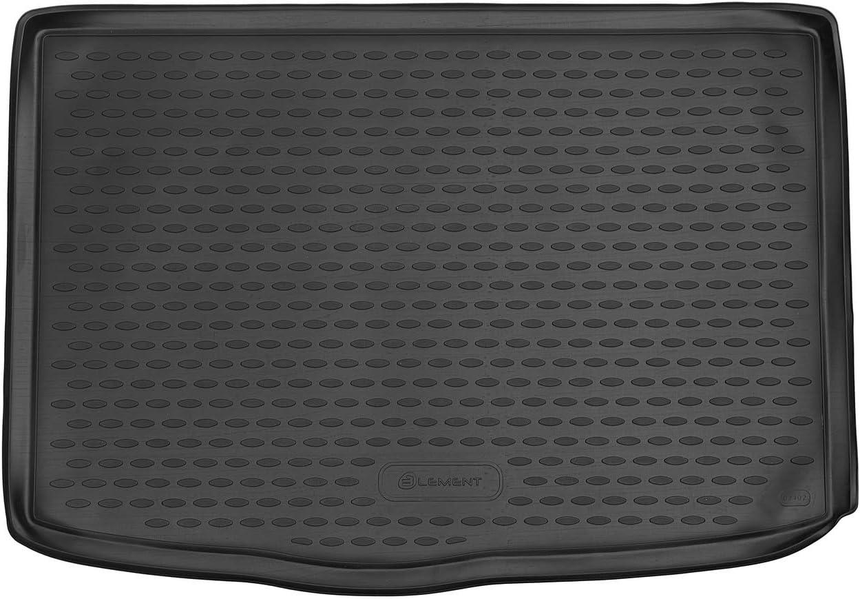 Element Exp.ELEMENT02402B13 Vasca Baule Tronco Bagagliaio Antiscivolo Premium su Misura per KIA Stonic 2017 Personalizzati Nera Standard 1 pez
