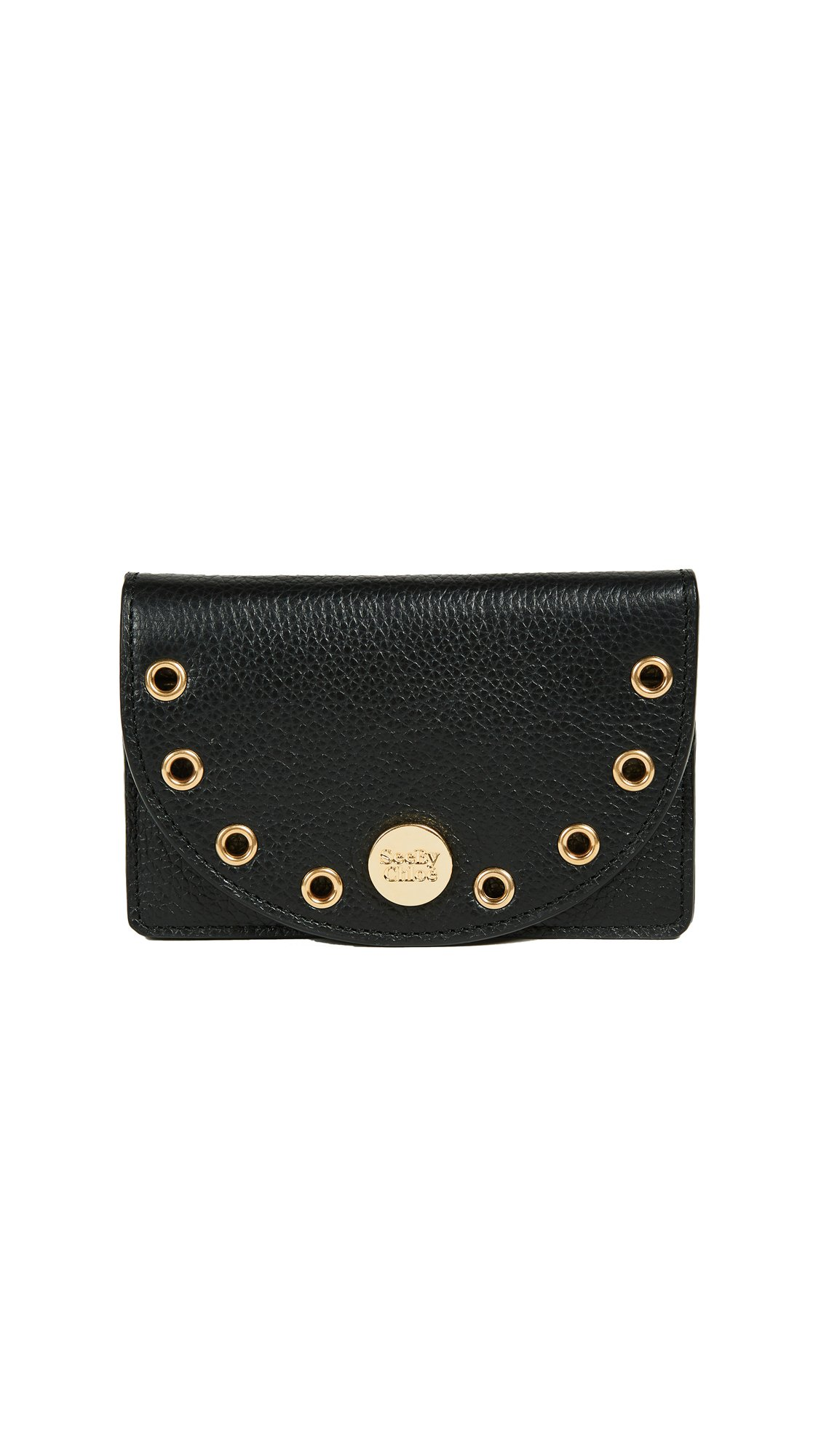 See by Chloe Women's Kriss Coin Purse, Black, One Size by See by Chloé