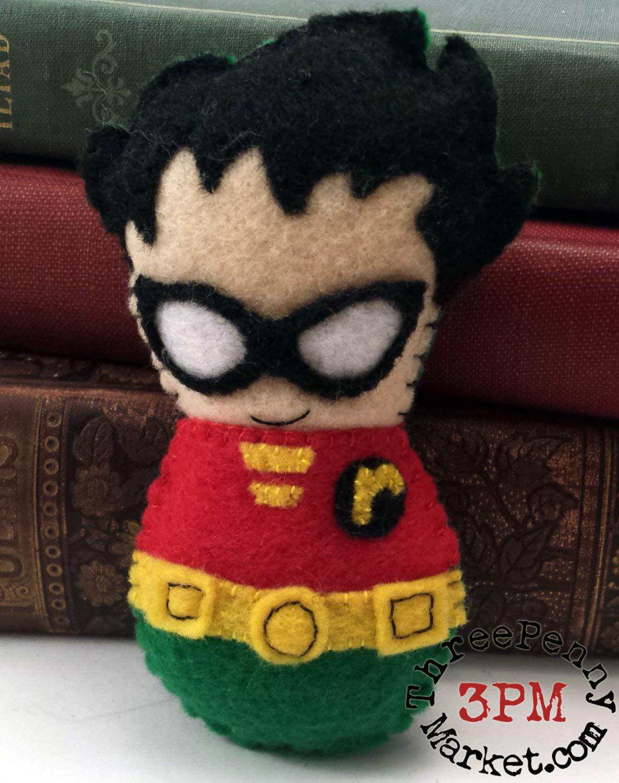 Robin plushie made to order