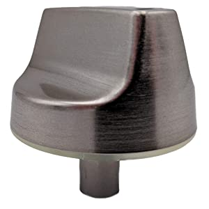 Supplying Demand WB03X25889 Chrome Burner Knob Compatible With GE