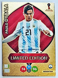 /Paulo Dybala Limited Edition Trading Card/ /Argentinien Adrenalyn XL FIFA World Cup 2018/Russland/