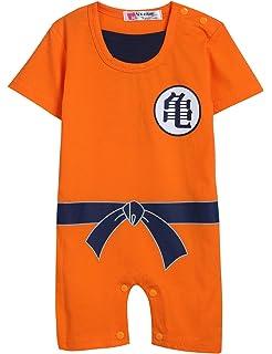 14354a990bb5 Amazon.com  Dragon Ball Goku Baby Costume Newborn Infant Boy Clothes ...