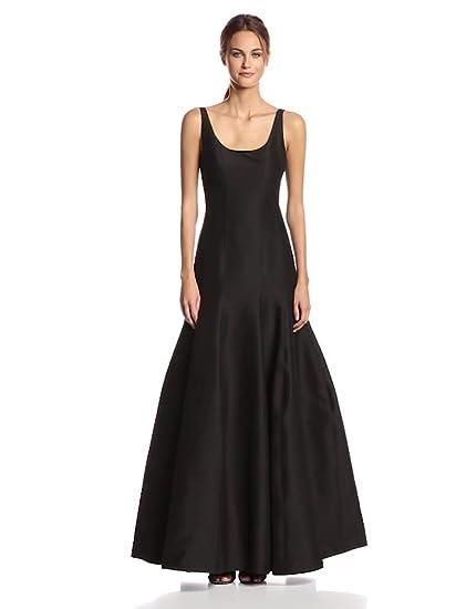 b1438319d8255c Amazon.com: HALSTON HERITAGE Women's Tulip Evening Gown: Clothing