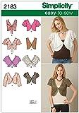Simplicity U5–16–18–20–22–24–2183Femme facile à coudre Patron de Couture Veste/Gilet sans manches pour homme