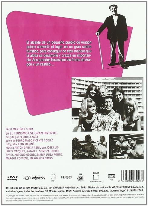 El Turismo Es Un Gran Invento [DVD]: Amazon.es: Paco Martinez ...
