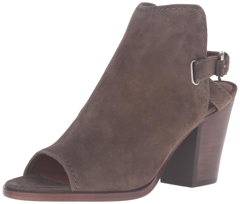 FRYE Women's Dani Shield Sling Platform Sandal B01926IWNY 8.5 B(M) US|Dark Taupe Suede