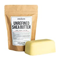 Unrefined African Shea Butter - Ivory, 100% Pure & Raw - Moisturizing and Rich Body...