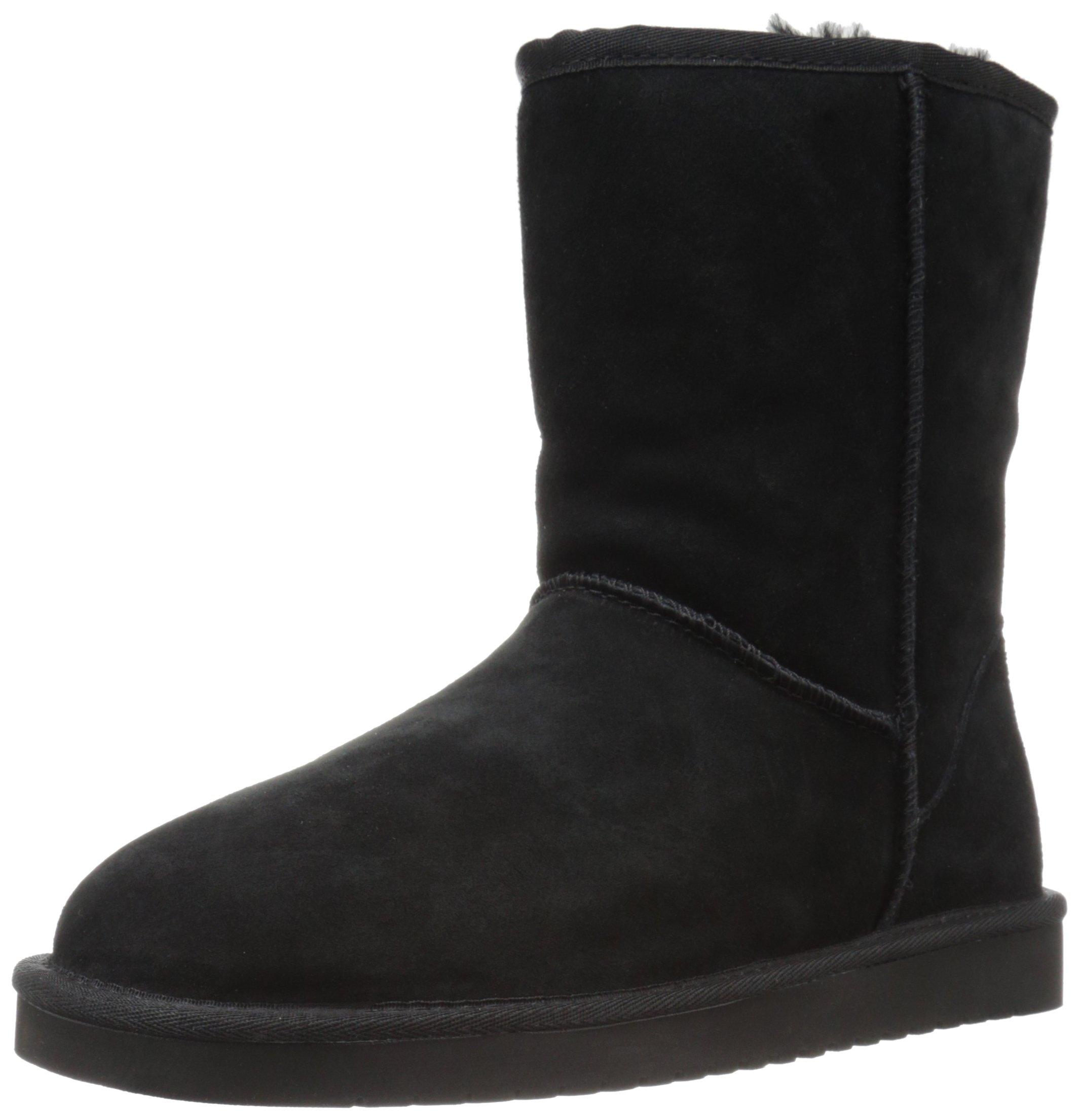 Koolaburra by UGG Women's Koola Short Fashion Boot, Black, 06 M US