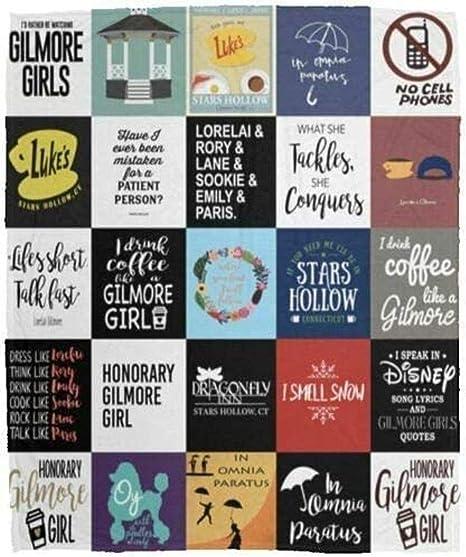 Gilmore Girls I Drink Coffee Like A Gilmore Girl V2 Quilt Fleece Blanket