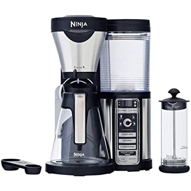 Ninja Coffee Bar with Glass Carafe and Auto-iQ One & Hot & Cold 18 oz. Insulated Tumbler - CF082 (Certified Refurbished)