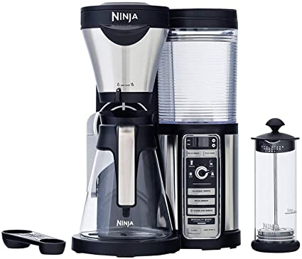 .com: ninja coffee bar with glass carafe and auto-iq one with ...