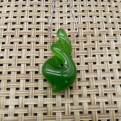 2 estilos Verde Nephrite dos veces Twist nefrita Nueva Zelanda ...