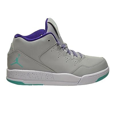 1c6989e92ac5 Jordan Flight Origin 2 GP Little Kids Shoes Wolf Grey Retro-CRT Purple-