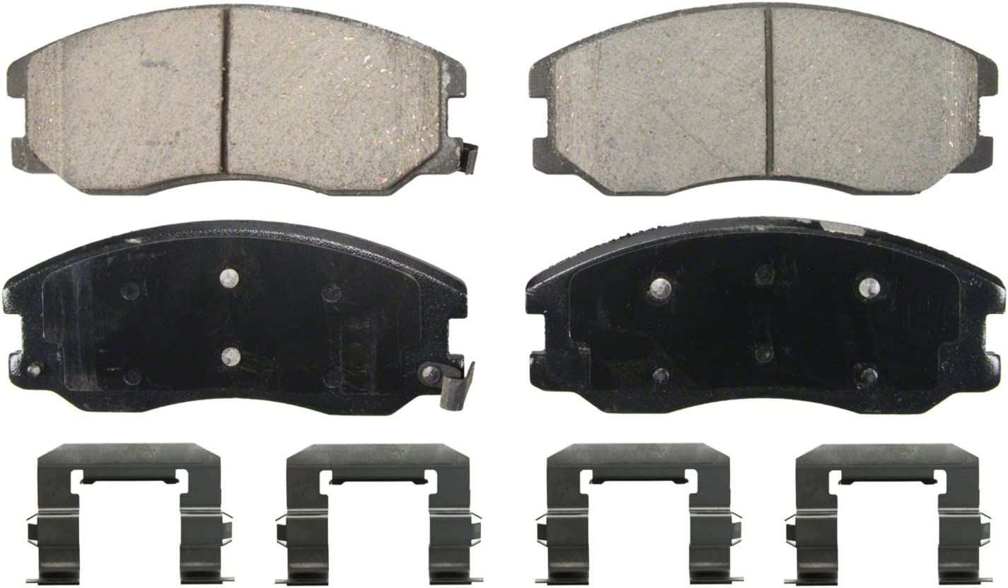 2008 For Pontiac Torrent Front Set Both Left and Right Ceramic Brake Pads with 2 Years Manufacturer Warranty