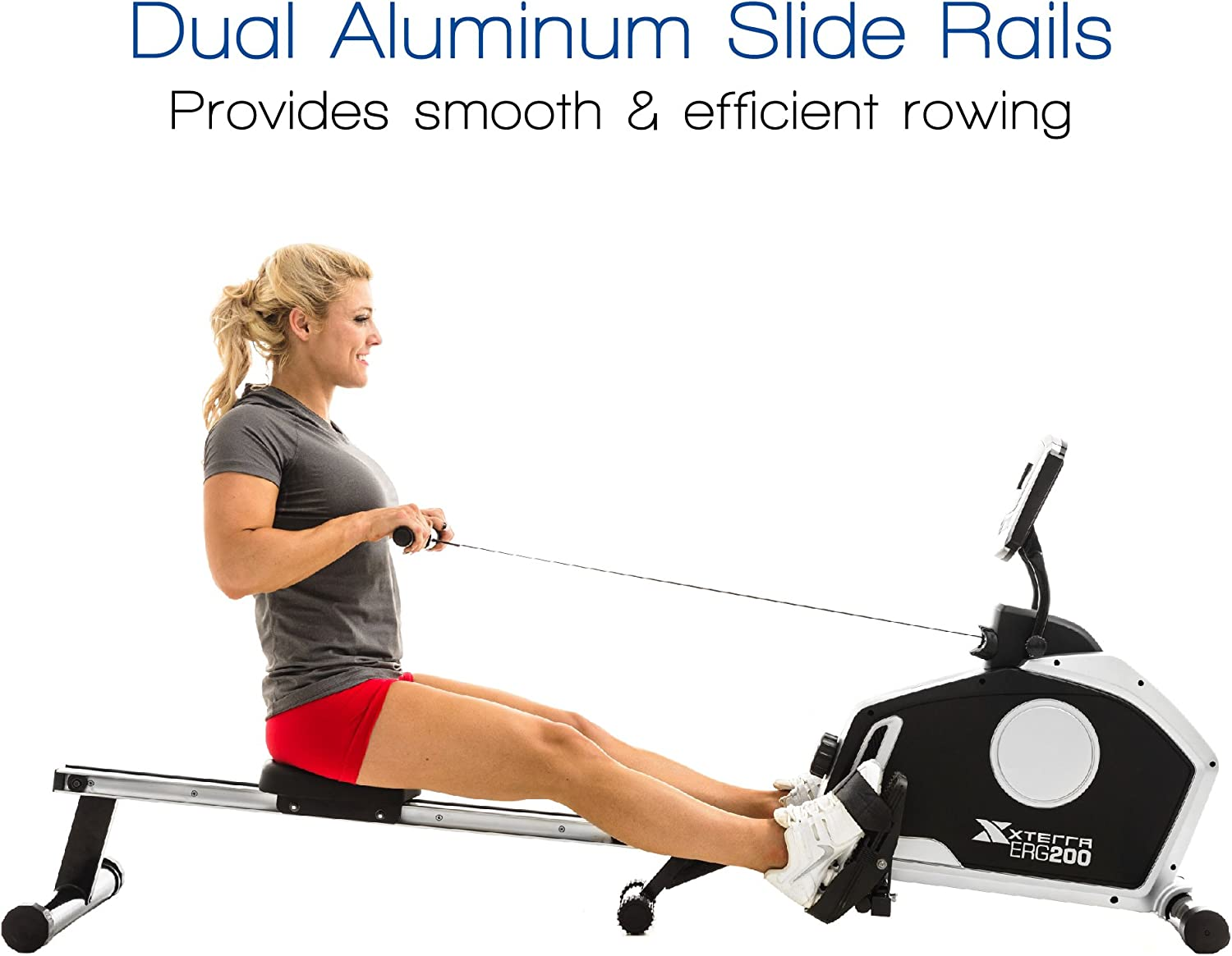 Amazon.com : XTERRA Fitness ERG200 Folding Magnetic Resistance Rower : Sports & Outdoors