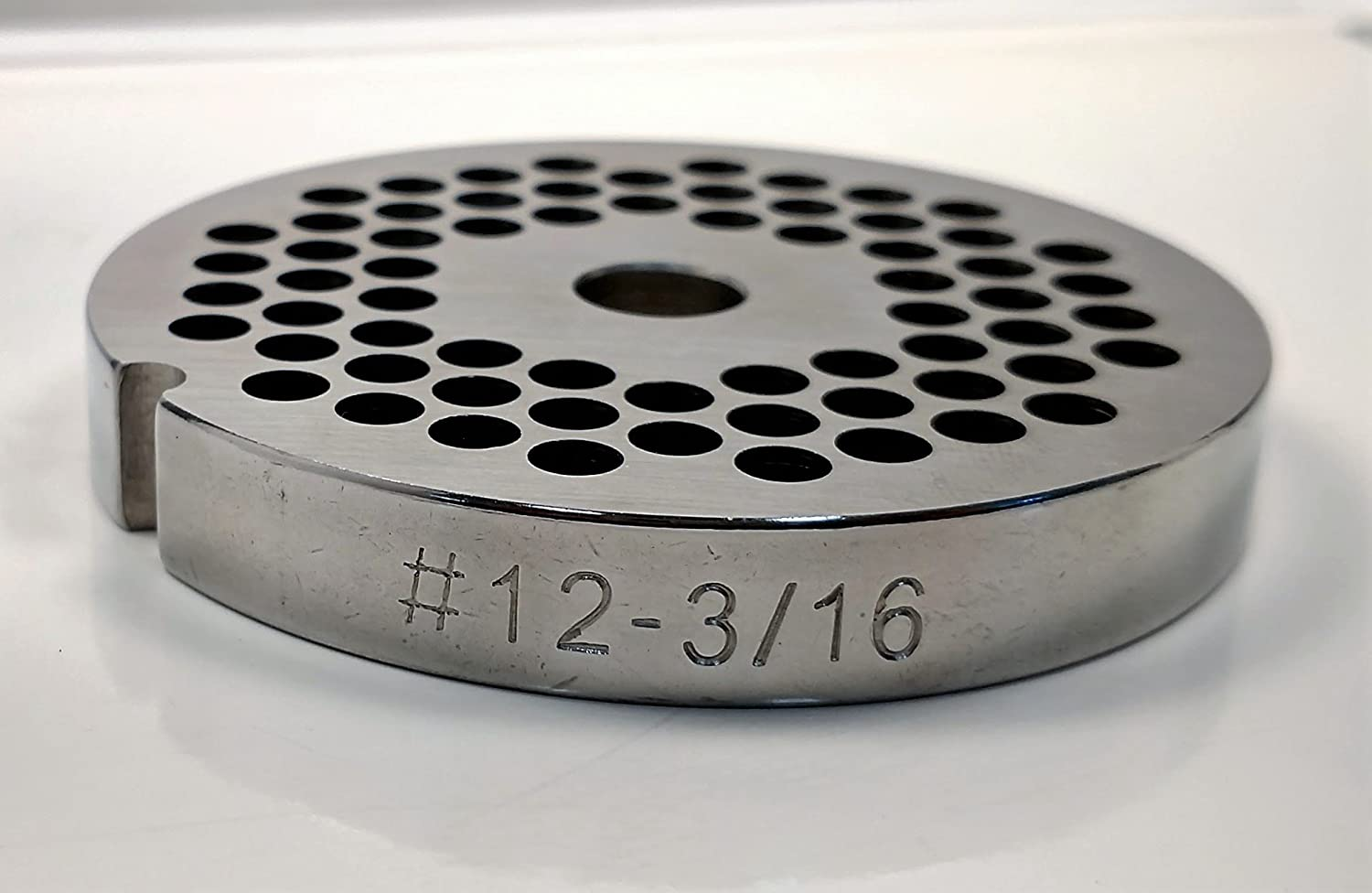 Food Service Knives #12 Meat Grinder Plate (3/16 in.)