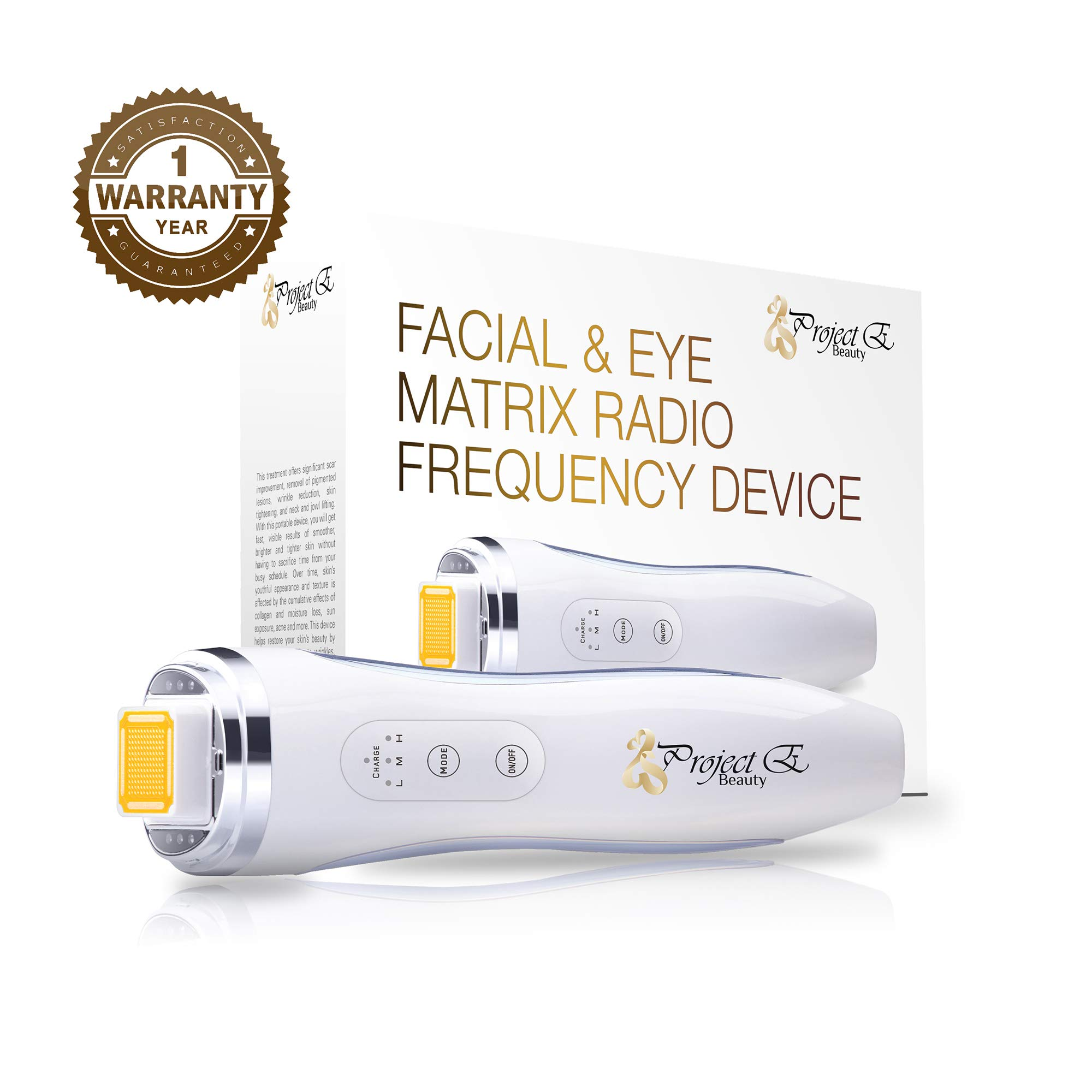 Project E Beauty Newest Best Effect Skin Tighten Face Lift Wrinkle Removal Skin Rejuvenation Mini Handheld Home Use Fractional Rf Machine by Project E Beauty