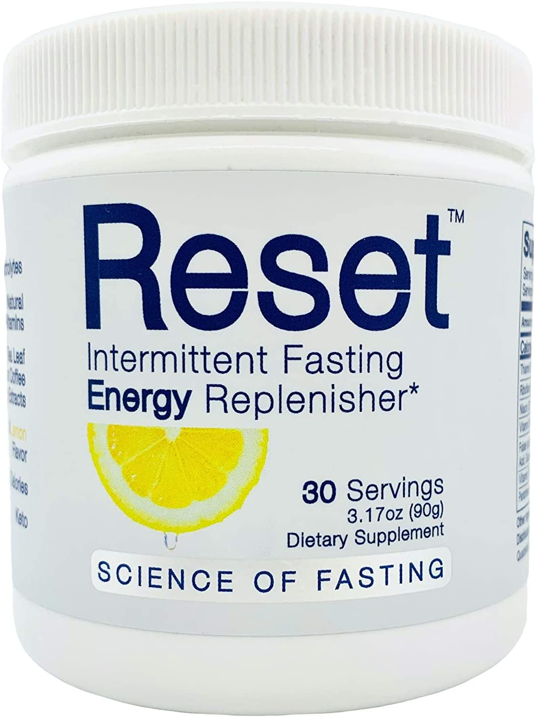 Amazon Com Reset Optimized Fasting Hydration And Energy High