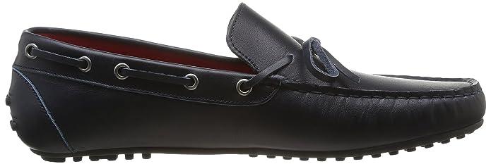 Hackett London Moccasins Bow Leather - Mocasines para hombre Azul marino talla 40: Amazon.es: Zapatos y complementos