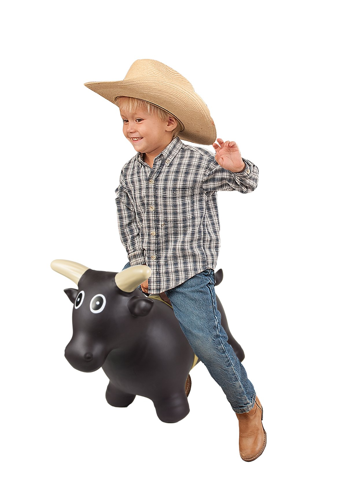 Big Country Toys Lil Bucker - Kids Hopper Toys - Bull Riding Toys & Rodeo Toys