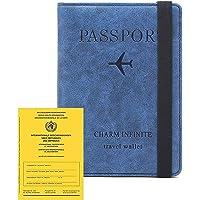 Tapa del Pasaporte, Tapa del Pasaporte con Bloqueador RFID, Porta Pasaporte para Mujeres y Hombres, Estuche de Viaje…