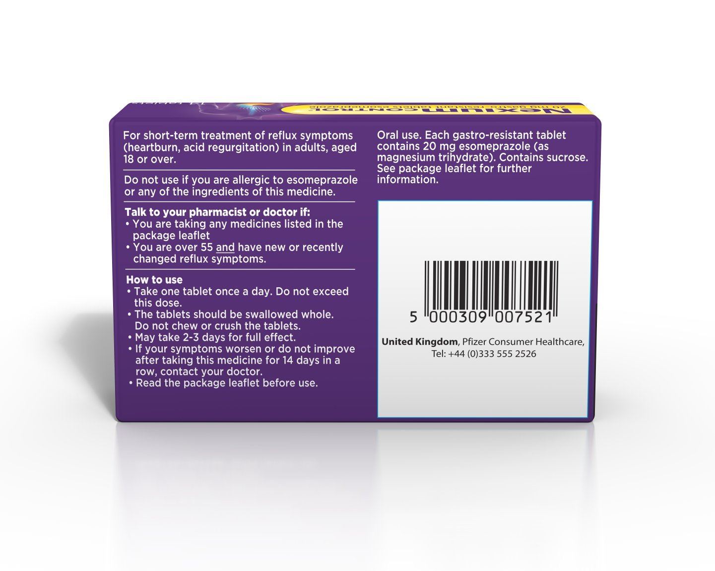 Gastro Tablets nexium 20mg tablets pack of 14 amazon co uk health