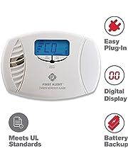 FIRST ALERT FATCO615, Carbon Monoxide Plug-in Alarm (Battery Backup and Digital Display)