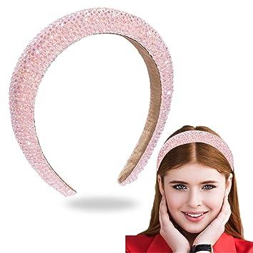 Girls Headwear Headband Women Hair Band Bling Rhinestone Crystal Hair Hoop Gift