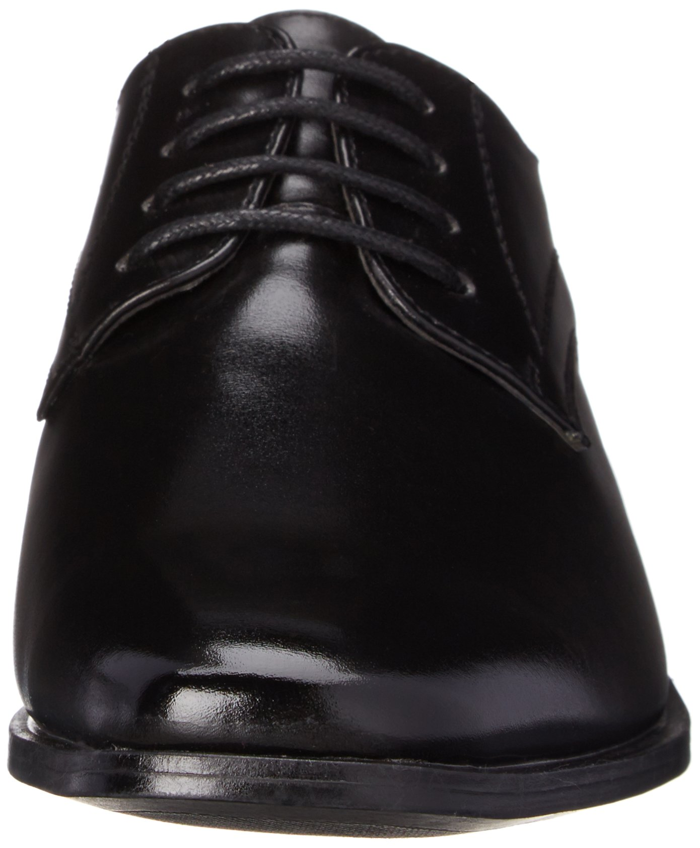 Stacy Adams Carmichael Plain Toe Lace-up Uniform Oxford Dress Shoe (Little Kid/Big Kid),Black,4 M US Big Kid by STACY ADAMS (Image #4)