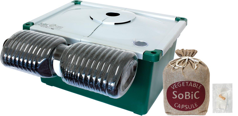 SoBiC(ソビック) 無電源野菜栽培キットSoBiCオーガニックプランター H-002[2018年モデル]&野菜カプセル 生育保証+おまけ種子付き 白トウモロコシ「ホワイトレディー」 S-037 B0797MTB7F