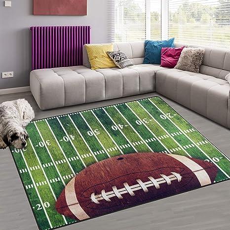 Amazon.com: naanle Sport alfombra de área 1.8 x2.7, campo ...