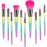 Party Queen Colorful Makeup Brushes Set
