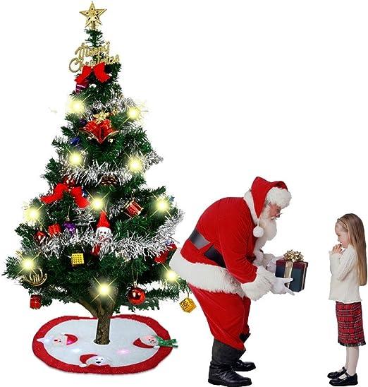 Tefamore 01 92cm Falda de decoración para árbol de Navidad ...