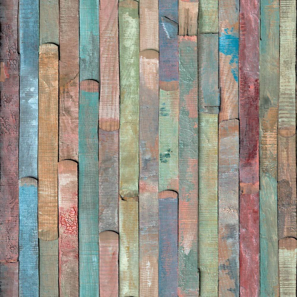 Unbekannt D C Fix, Folie, Design Rio Buntes Holz, Selbstklebend, 45 X