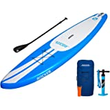iRocker Paddle Boards Inflatable 11-Feet Long X 6-Inch Thick SUP Package