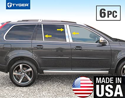 Amazon Com Made In Usa Works With 2003 2015 Volvo Xc90 6pc
