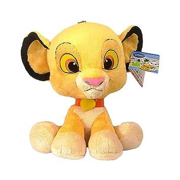 Disney El Rey León - Peluche Gigante Baby Disney - Simba 45 cm