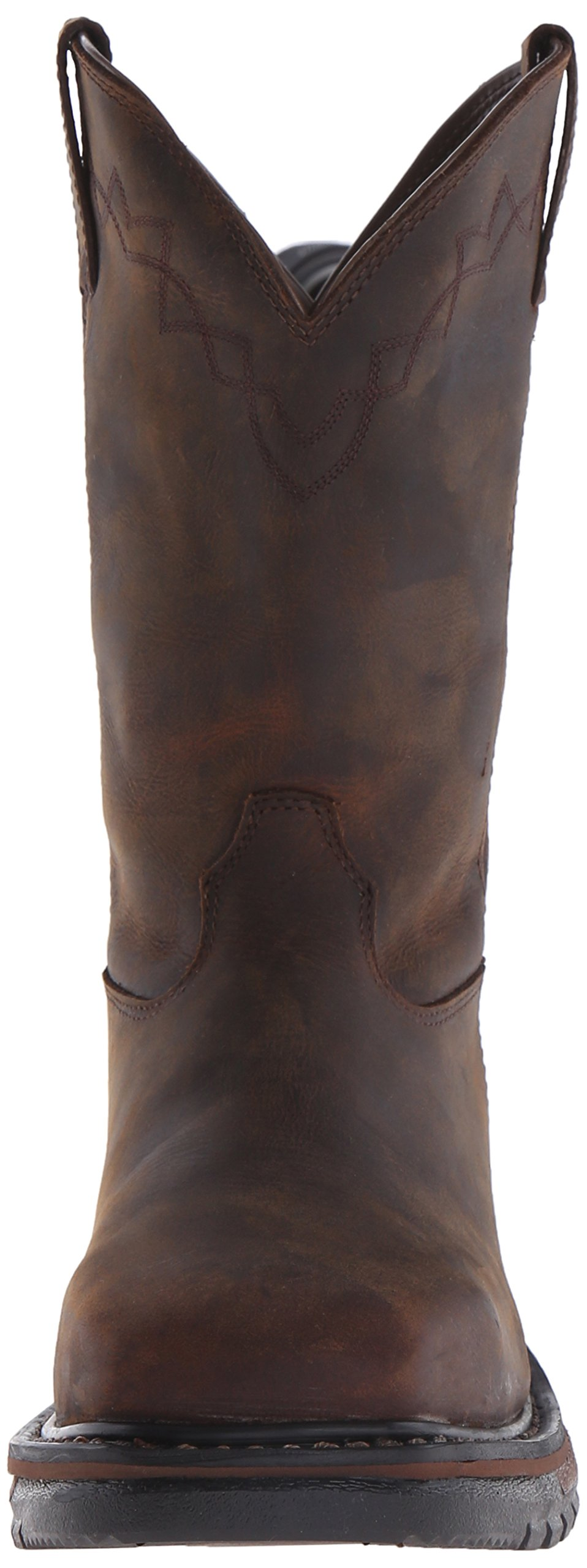 Rocky Men's RKW0117 Boot, Dark Brown, 10 M US by Rocky (Image #4)