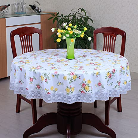 Thick Round Table Cloth/Plastic Round Table Cloth/ Round Table/PVCWallpaper/