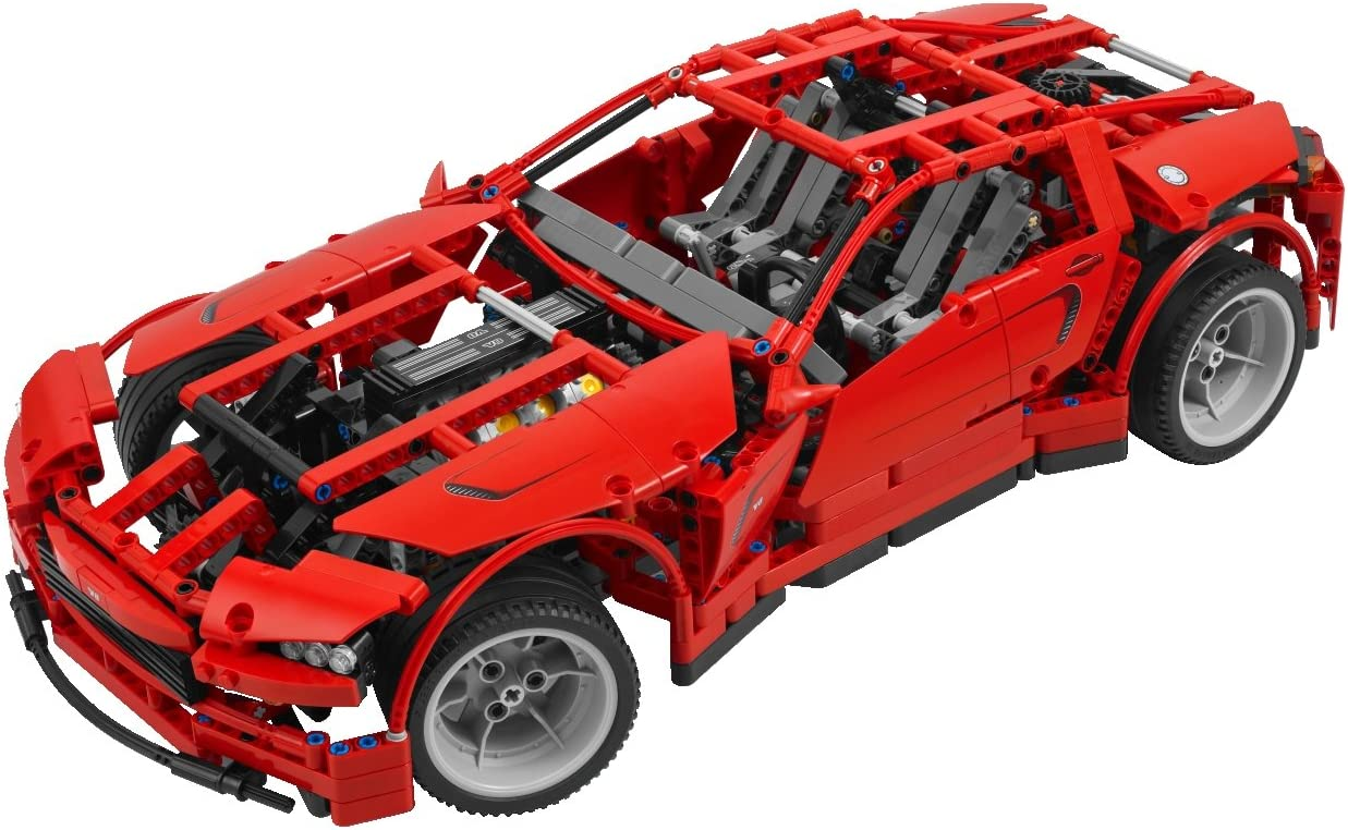 Amazon Com Lego 8070 Technic Super Car Toys Games