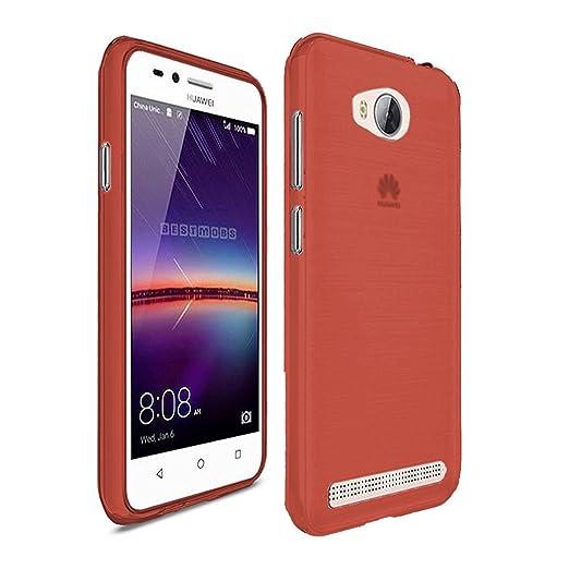 4 opinioni per TBOC® Custodia Gel TPU Rossa per Huawei Y3II- Y3 II- Y3 2 in Silicone Ultra