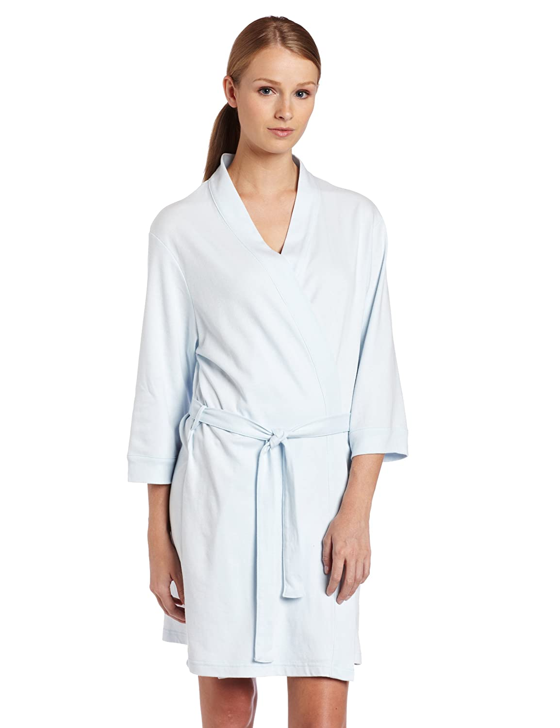 Seven Sons Siete Apparel Hotel SPA Collection algodón de Punto Kimono Robe