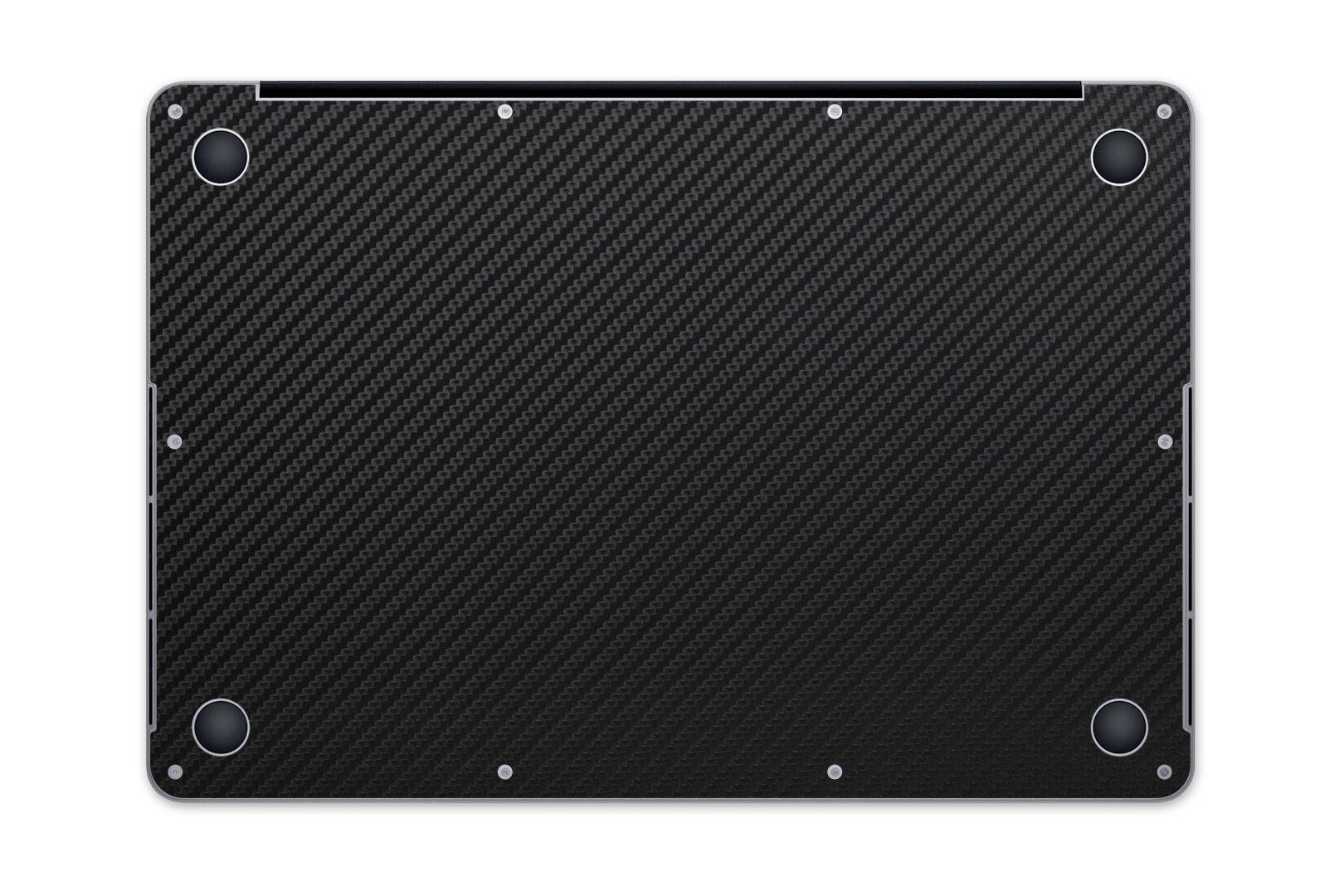 iCarbons Black Carbon Fiber Vinyl Skin for MacBook Pro 15'' Retina Full Combo by iCarbons (Image #3)