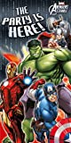 Décoration de porte Avengers
