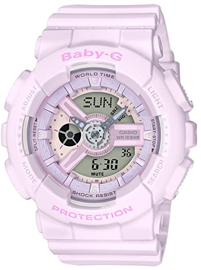 aecc307aeefd24 CASIO Baby-G Pink Bouquet Series BA-110-4A2JF WOMENS JAPAN IMPORT: Amazon.ca:  Watches