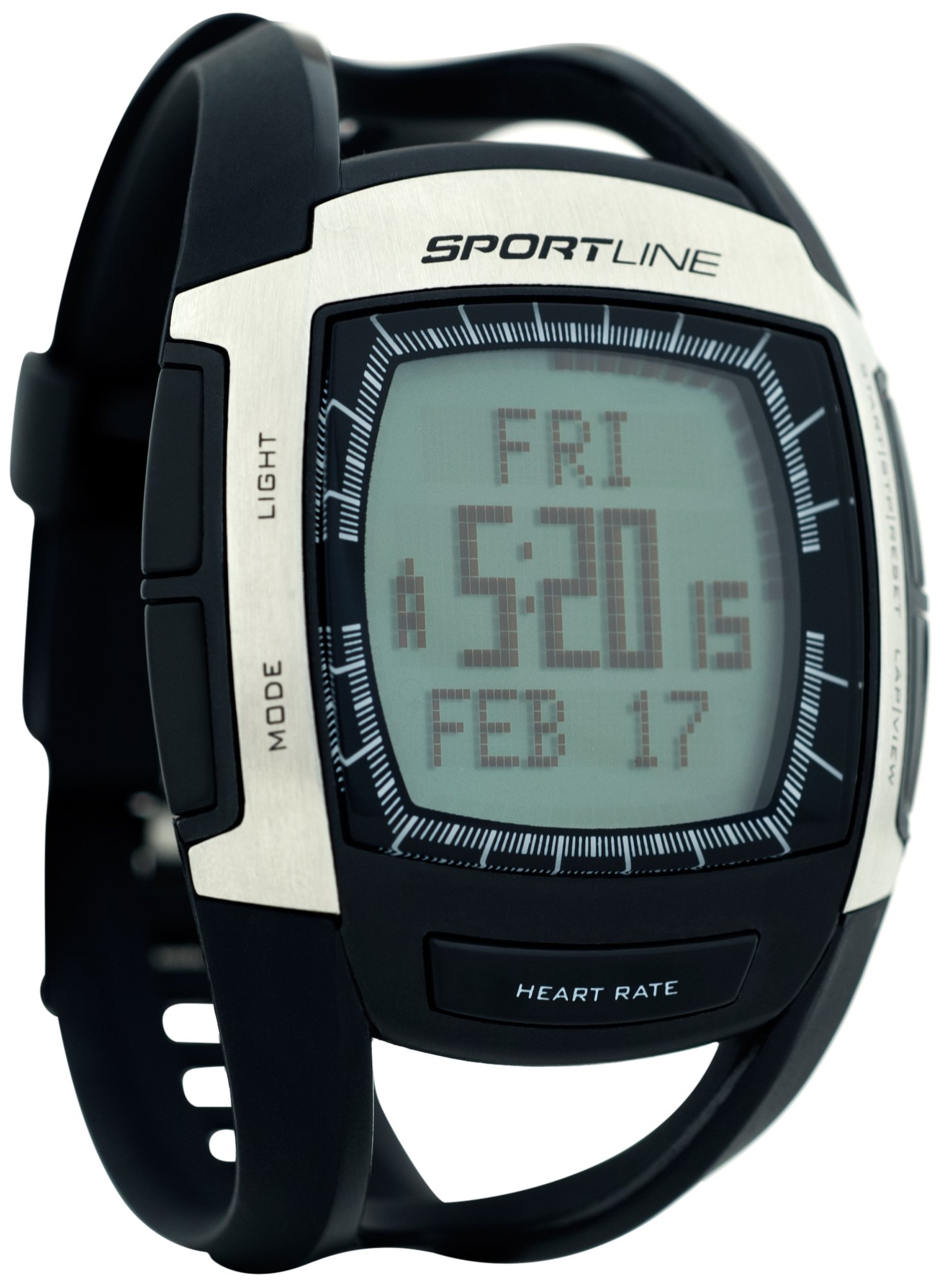 Sportline 670 Cardio Connect Men's Heart Rate Monitor With Speed and Distance Tracking by Sportline
