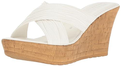 4058afe32273 ITALIAN Shoemakers Women s Bright Wedge Sandal